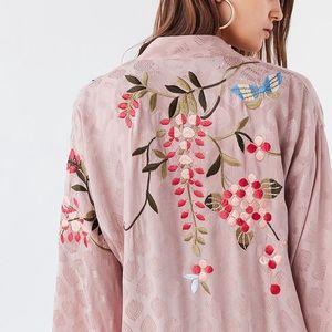 UO Lost in Heaven Embroidered Kimono